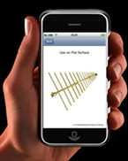 iphone smart phone application antenna tv fix australia hdtv