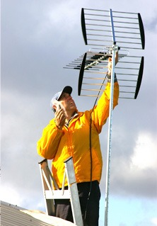 antenna masts poles