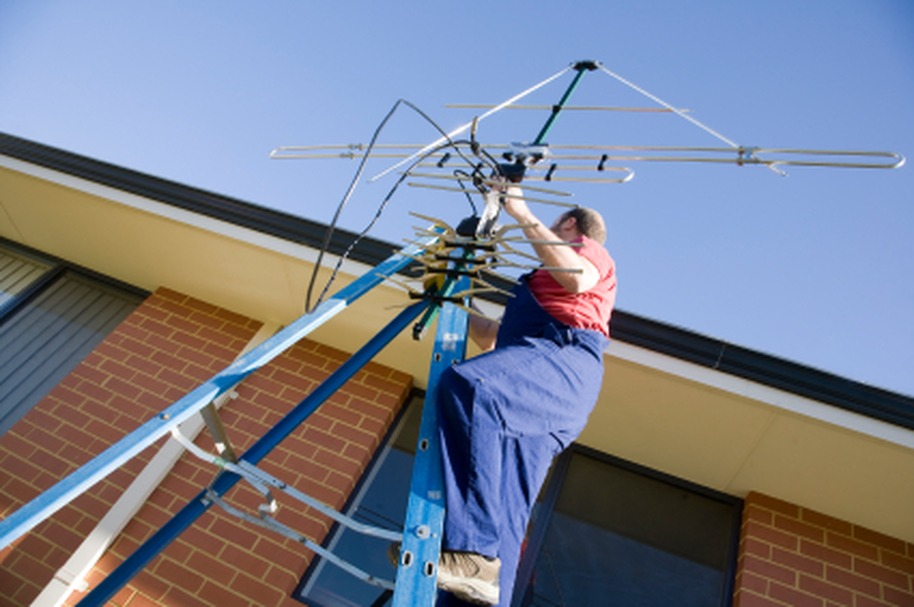 DIY antenna installation